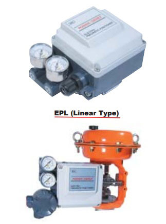 Power-Genex EPL & EPR Electro-Pneumatic Positioner