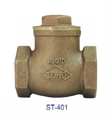 TOHO ST-401 Bronze Swing Check Valve